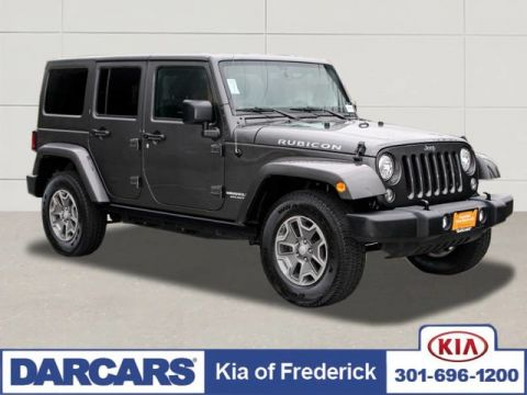 2017 Jeep Wrangler Unlimited Rubicon 4x4 HARD TOP, NAVIGATION.