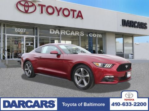 Pre-Owned 2015 Ford Mustang EcoBoost RWD 2dr Car 2 door