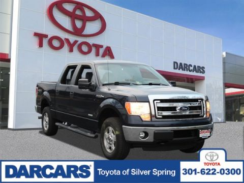 Pre-Owned 2013 Ford F-150 Lariat 4WD Crew Cab Pickup 4 door