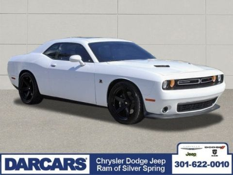 Pre-Owned 2018 Dodge Challenger R/T Scat Pack Rear Wheel Drive 2dr Car 2 door