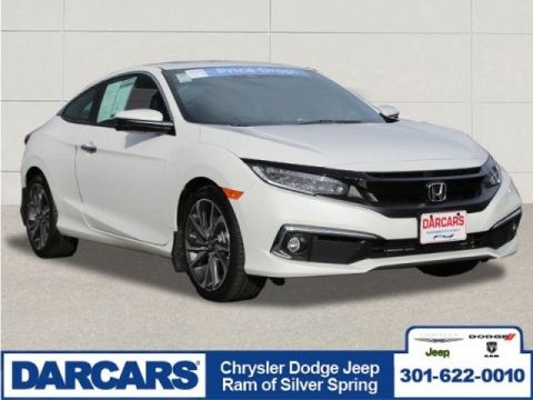 Pre-Owned 2019 Honda Civic Coupe Touring Front Wheel Drive 2dr Car 2 door