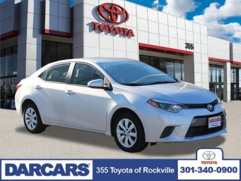 Pre-Owned 2016 Toyota Corolla LE FWD 4dr Car 4 door