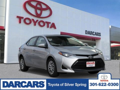 Pre-Owned 2018 Toyota Corolla LE FWD 4dr Car 4 door