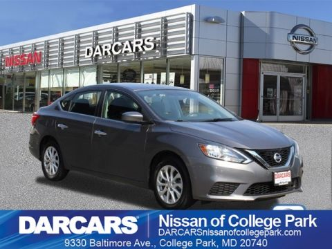 Pre-Owned 2018 Nissan Sentra SV Front Wheel Drive Sedan 4 door