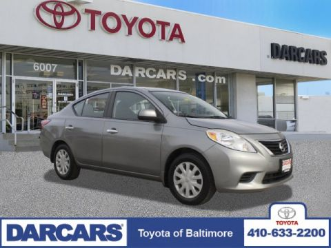 Pre-Owned 2013 Nissan Versa SV FWD 4dr Car 4 door