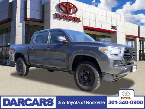 Pre-Owned 2018 Toyota Tacoma SR 4WD Crew Cab Pickup 4 door