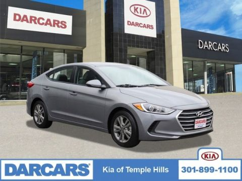 Pre-Owned 2018 Hyundai Elantra SEL Front Wheel Drive Sedan 4 door