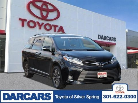 Certified Pre-Owned 2019 Toyota Sienna Limited Premium AWD Mini-van, Passenger 4 door
