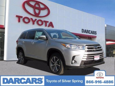 New 2019 Toyota Highlander XLE AWD Sport Utility 4 door