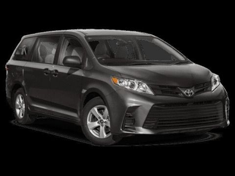 New 2020 Toyota Sienna LE FWD Mini-van, Passenger 4 door