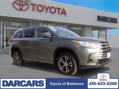 Pre-Owned 2018 Toyota Highlander LE FWD Sport Utility 4 door