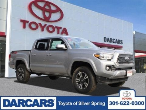 New 2019 Toyota Tacoma 4WD TRD Sport Double Cab 5' Bed V6 MT (Natl)