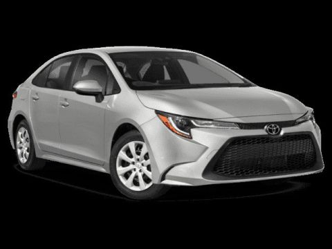 New 2020 Toyota Corolla LE FWD 4dr Car 4 door
