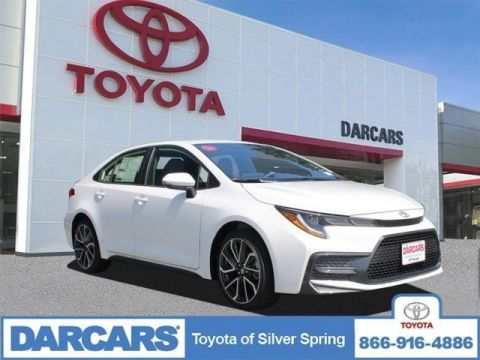 New 2020 Toyota Corolla SE FWD 4dr Car 4 door