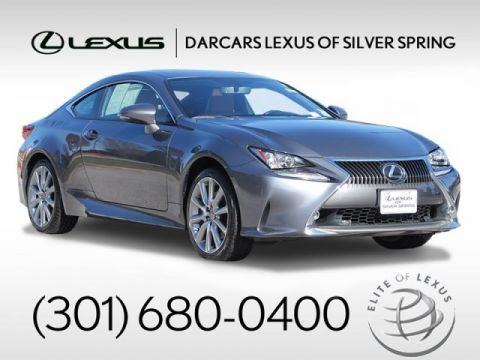 Pre-Owned 2016 Lexus RC 300 Premium Package / Navigation AWD 2dr Car 2 door