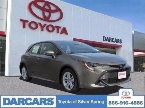 New 2019 Toyota Corolla Hatchback SE FWD Hatchback 4 door