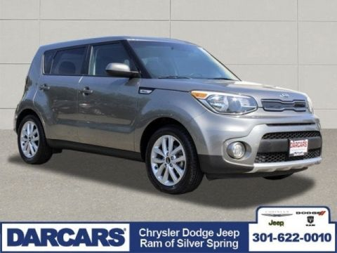 Pre-Owned 2017 Kia Soul + Front Wheel Drive Wagon 4 door