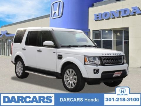 Pre-Owned 2016 Land Rover LR4 Base 4WD 4D Sport Utility 4 door